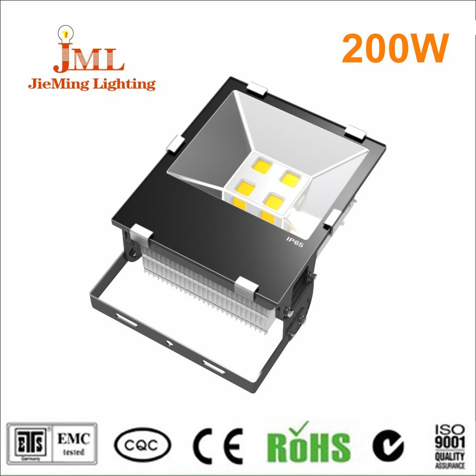 White color temperature LED floodlight 85-265V waterproof aluminum housing material outdoor lighting 1pcs/lot drop shipping