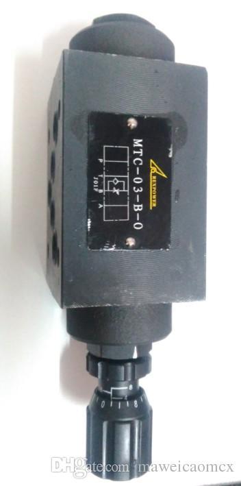 Hydrulic valve MTC-03-B-O throttle valve with flow control