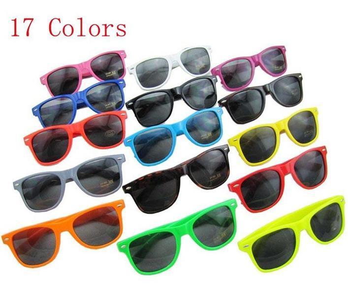 2017-500pcs-17 Arten von Farben Womens and Herren Modern Moderne Strand Sonnenbrille Heißer Verkauf Klassische Stil Sonnenbrille Bo9804 Kostenlos Senden DHL