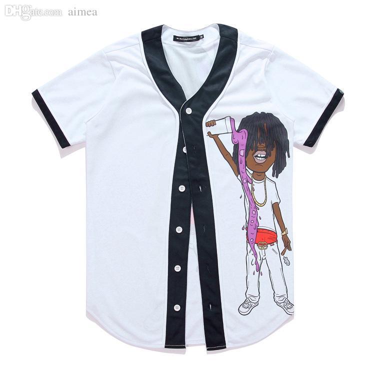 Camicia uomo all'ingrosso-Taglie forti Nuova estate manica corta stampata novità camicie da uomo casual abbigliamento maschile