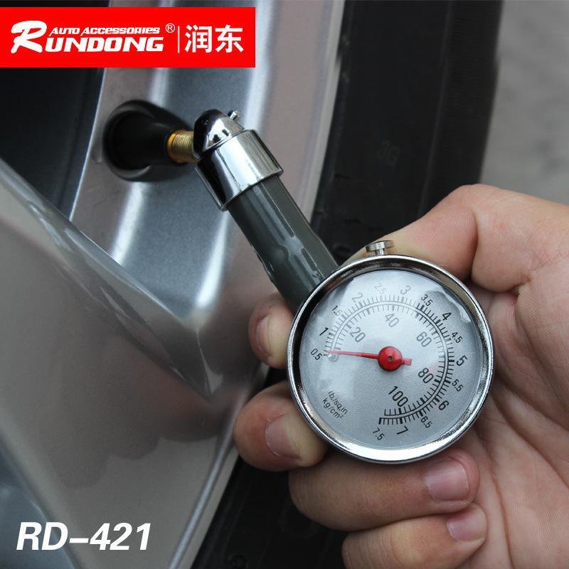 Automobile tire pressure gauge box tire pressure meter capable of deflating tire pressure meter multifunctional tire pressure gauge