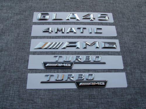 Großhandel 1 Satz Auto Trunk Emblem Nummer Buchstaben Aufkleber Aufkleber Für Mercedes Benz Amg Gla Von Jianminyang 5059 Auf Dedhgatecom Dhgate