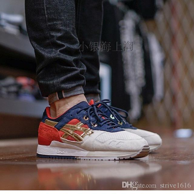 2019 Whosale 2016 Hot Asics GEL Lyte III Men Shoes Women Running Shoes Best Quality Cheap Training Lightweight Online Fashion Basketball Shoes From