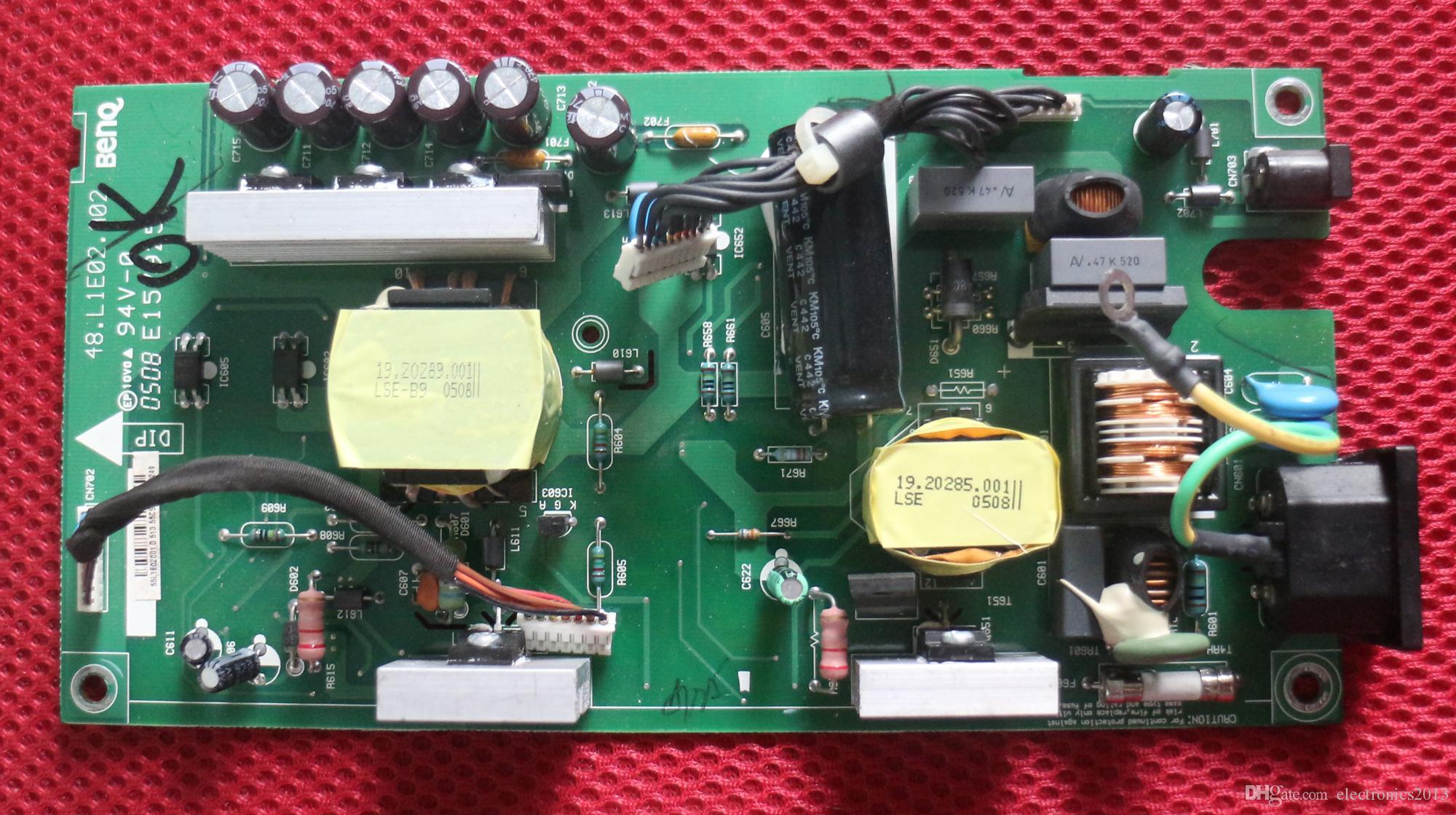 Spedizione gratuita originale LCD scheda di alimentazione 48.L1E02.A03 / A02 E157925 per DELL 2405FPW 2405FP