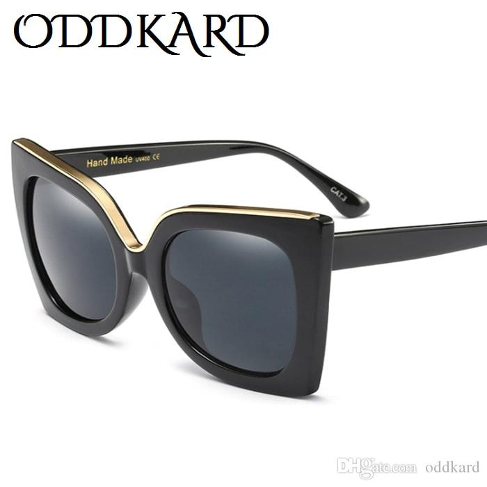 ODDKARD العلامة التجارية الجديدة خمر ريترو نظارات شمسية للرجال والنساء الفاخرة مصمم الأزياء النظارات الفخمة UV400