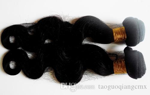 "7A Peruvian Virgin Hair Body Wave Hair Extension Weft 3 4 5pcs Lot 8-30"" Unprocessed Virgin Indian human hair Natural Color hot selling"