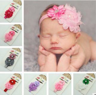 예쁜 아기 헤어 액세서리 유아 아기 레이스 큰 꽃 활 공주 아기 소녀 헤어 밴드 머리띠 아기의 머리 밴드 키즈