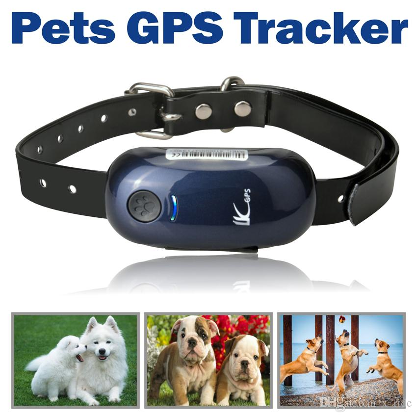 Mini Pet GPS Tracker Dog Cane da caccia in tempo reale Outdoor Positioning Tracking Locator Collar, inseguitore di cani, auto