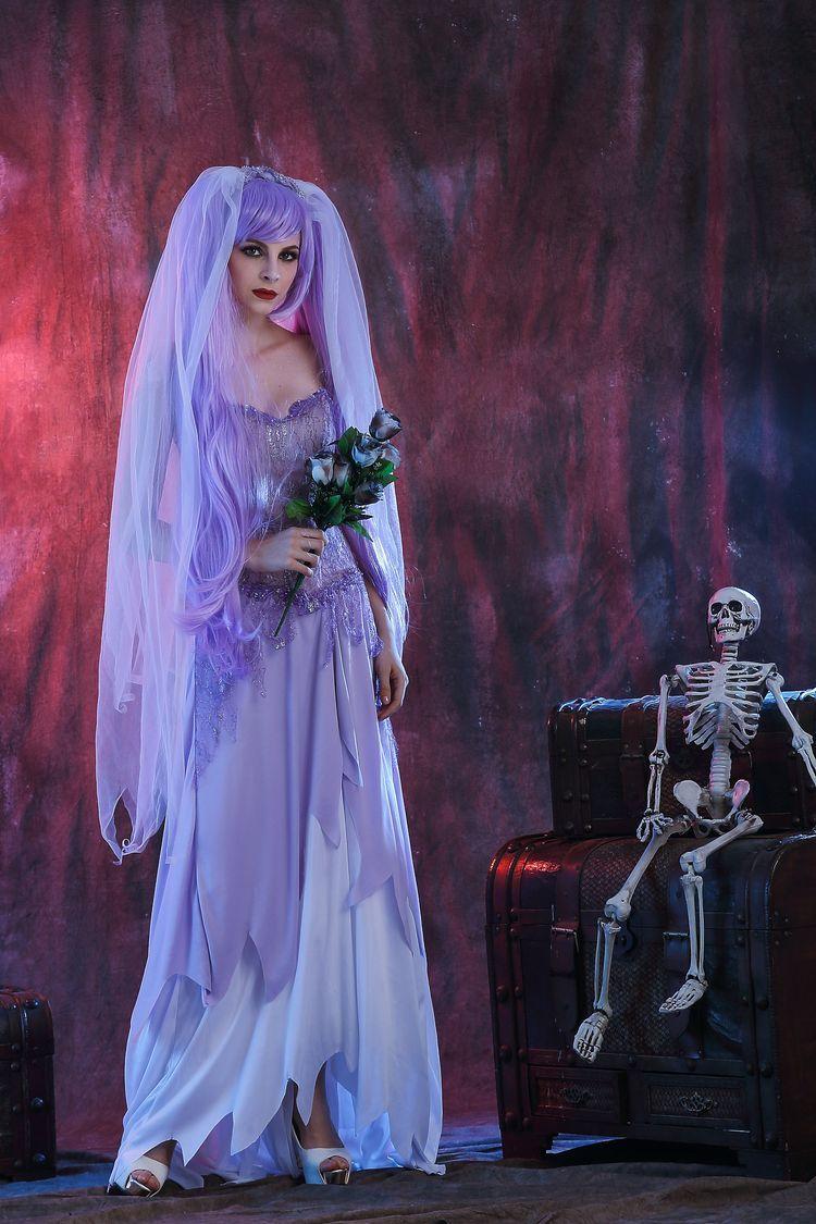 wholesale halloween fun, zombie wedding dress halloween zombie