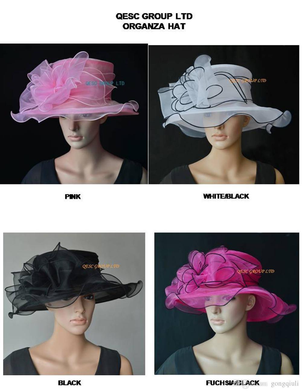 НОВОЕ ПОСТУПЛЕНИЕ. Органза шляпа случаю шляпа Кентукки Дерби шляпа, церковь шляпа, Шляпа свадьбы для чаепития.