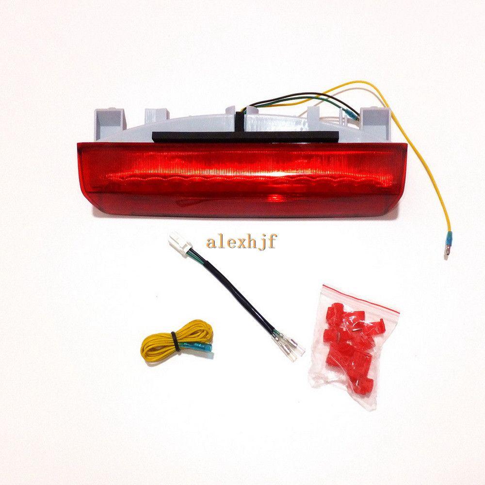 Araba LED Fren Lambası, Kristal Yüksek Dağı Stop Lambası, Toyota için Eski Arka Sis Lambası Kapağı Eski Alphard Vellfire 10 2002 ~ 2008 Estima 30 2002 ~ 2008