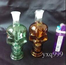Trasporto libero all'ingrosso del narghilé - creatore delle ossa del cranio di colore, accessori inviati, consegna casuale di colore