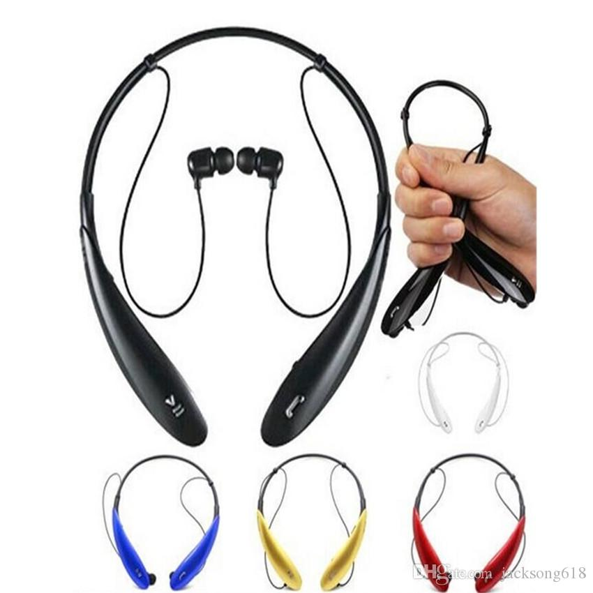 Auriculares estéreo inalámbricos de los auriculares 10set / lot HB800 Auriculares de la diadema del deporte HBS 800 en el oído con el paquete al por menor