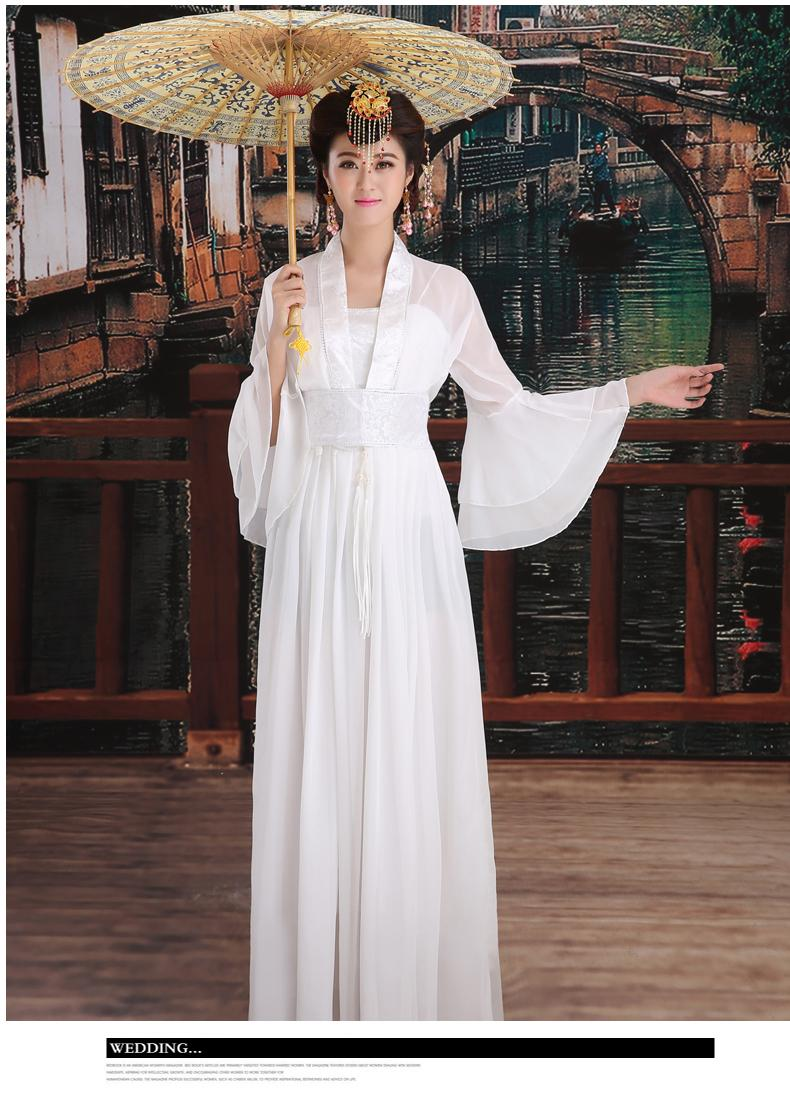 Chinese-style costume fairy costume The tang dynasty ancient hanfu costumes Classical dance princess high-ranked imperial concubine dress