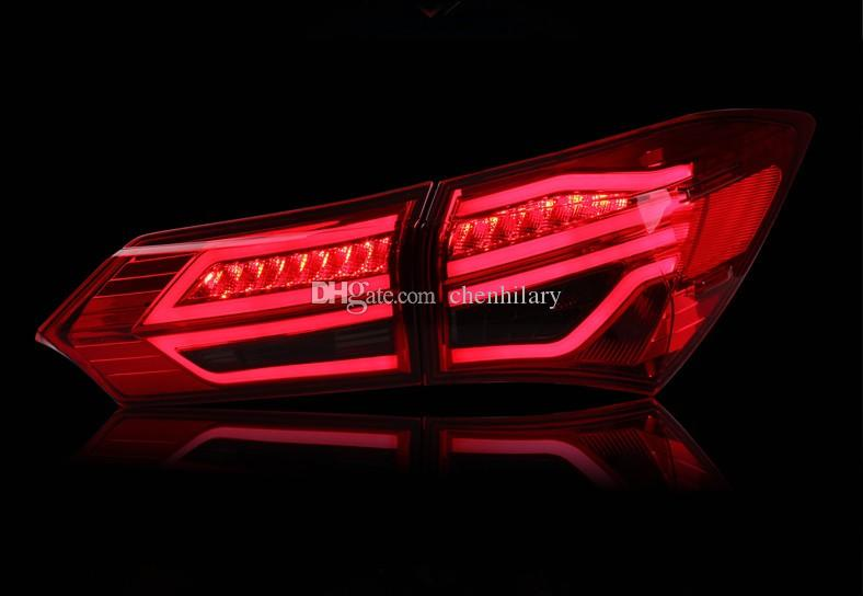 Car Tail Lights >> 2019 Car Styling Led Taillights For Toyota Corolla 2014 2015 2016 New Altis Led Tail Light Rear Lamp Signal Brake Drl Reverse From Chenhilary 251 25