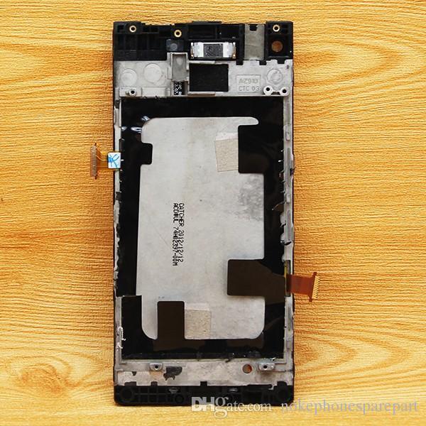 Display lcd touch screen digitador assembléia para htc telefone janela 8x c620e c625e c620t substituição peças de reparo preto