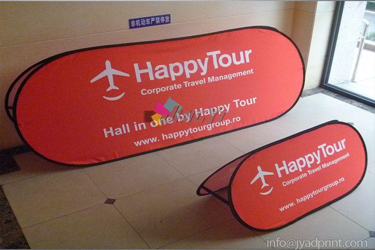 OutdoorCustom Print Spring Horizontal Bannière / Golf popup Bannière / pop up Display / 5pcs 120X70cm avec livraison gratuite