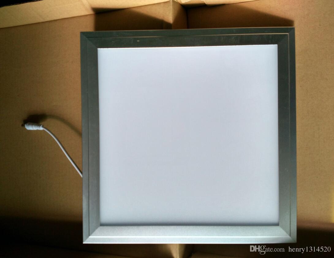 Vendita calda di trasporto di alta qualità 300x300mm alluminio del pannello di 18W LED + PMMA bianco caldo bianco naturale bianco freddo