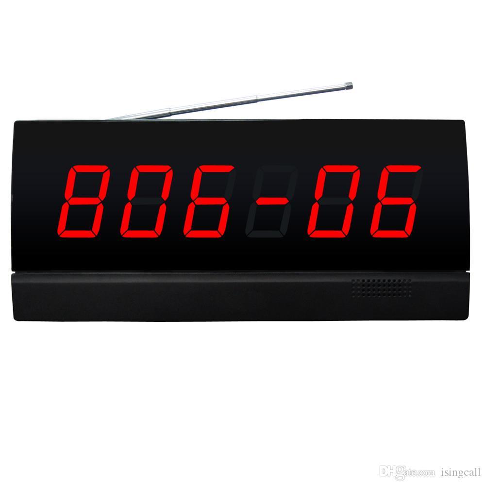 SINGCALL, drahtloses Krankenhausrufsystem, Anzeige der Patientennummer an der Schwesternstation. es zeigt Zimmernummer und Bettnummer