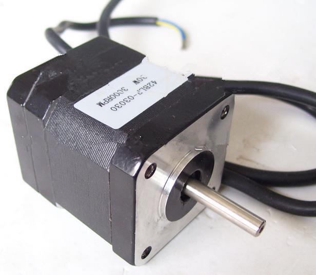 Motor de CC sin escobillas Nema 17, 24VDC, 30W, 3000RPM, 42BLF03 Motor de CC sin escobillas