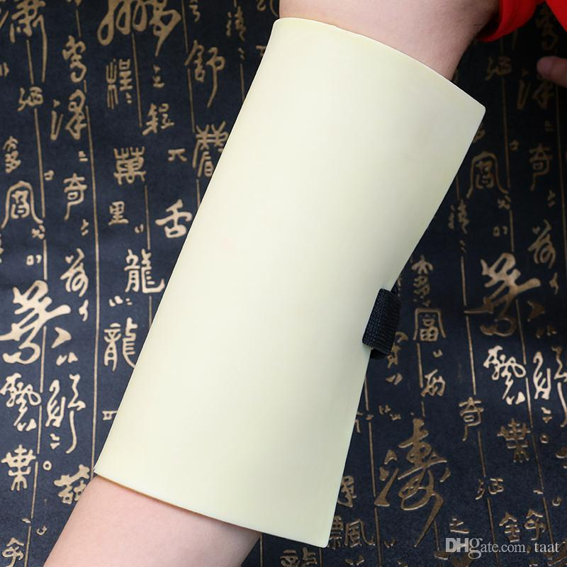 1pcs/Lot 20x20x0.3cm Silicone Disposable Practice Tattoo Skin with Tape Bandage Artificial Tattoo Accessories WUA773