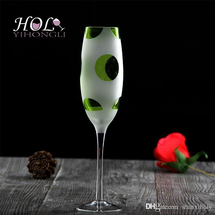 Scrub Champagne glass glass flute de champanhe