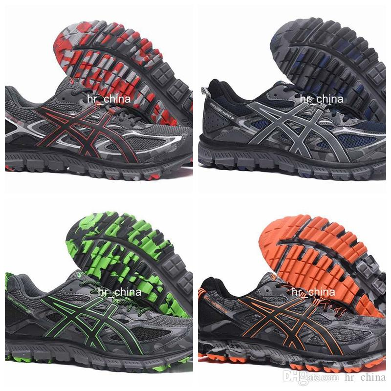 sports shoes 83c47 4e824 2017 New Asics GEL SCRAM 3 Running Shoes For Men, Top Quality Breathable  Lightweight Athletic Sport Sneakers Eur Size 40 44 Shoe Sale Running Spikes  ...