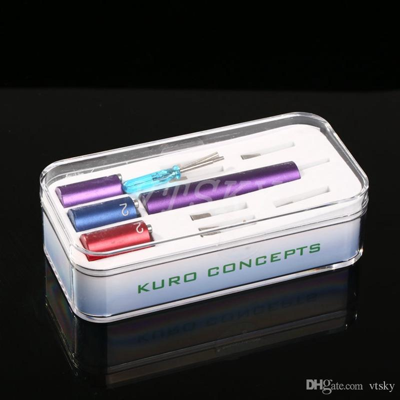 Kuro Koiler Universal Tools 6 in 1 Kits Coil Jig Coiler Winding Coiling Builder Heating Wire Wick Tool For DIY RDA Ecig DHL