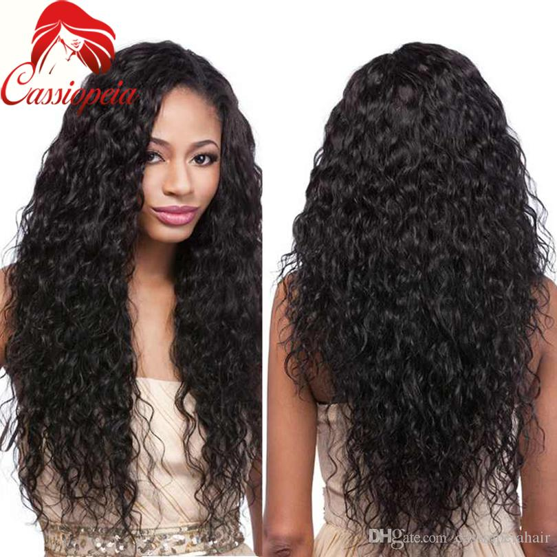 Loose Curly Wigs For BlacK Women Glueless Full Lace Human Hair Wigs in Stock Malaysian Lace Front Wigs Factory Cheap Price in Stock