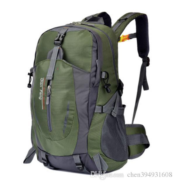 Heißer Verkauf Outdoor-Sporttaschen Bergsteigenbeutel Camping Tasche Rucksack Wandern Fahrrad Rucksack Sport Reisetasche Rucksack