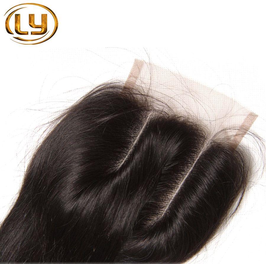 7A Mejor brasileña Cierre Cuerpo onda brasileña del encierro del cordón Nudos blanqueados cierres libre / 2 / 3part cabello humano El cierre brasileño del pelo