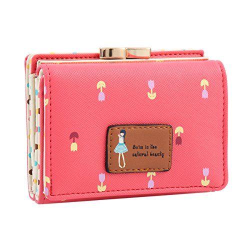 Women/'s Gorgeous Faux Leather Clutch Long Wallet Phone Card Holder Purse