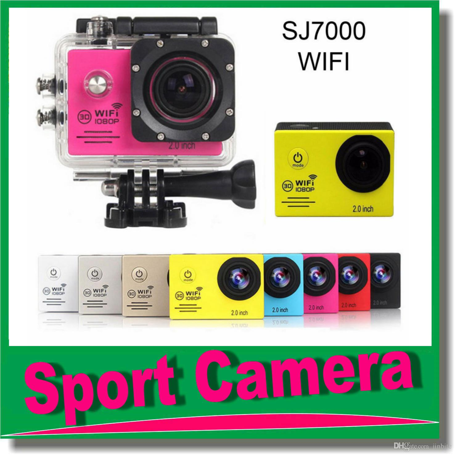 "HD Sports Cam WIFI 12MP 2.0"" LTPS LCD 1080P Wide Angle Sport Action Camera Waterproof DV Camcorder For Bike Camping Swim JBD-N3"