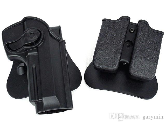 tactical gun holster molle magazine pouch defense pistol and magazine holster for M92 Airsoft(ht027)