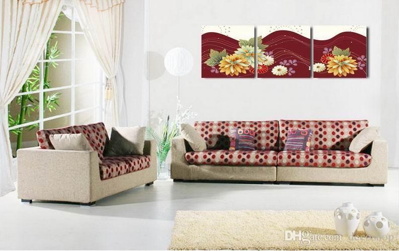 현대 아름 다운 꽃 괜 찮 아 요 꽃 그림 캔버스에 Giclee 인쇄 홈 장식 벽 예술 Set30335