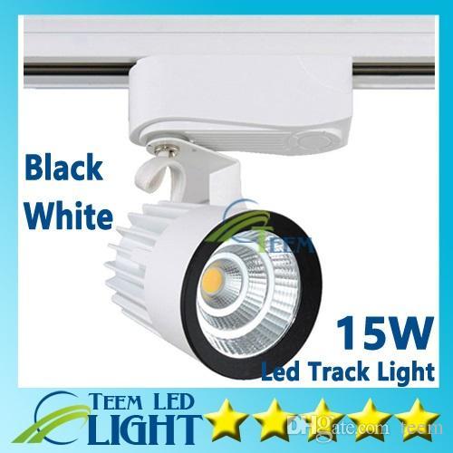 RoHS CE Lumières En Gros Au Détail 15W COB Led Piste Lumière Murale Applique Murale, Suivi Soptlight led AC 85-265V éclairage Livraison gratuite 50