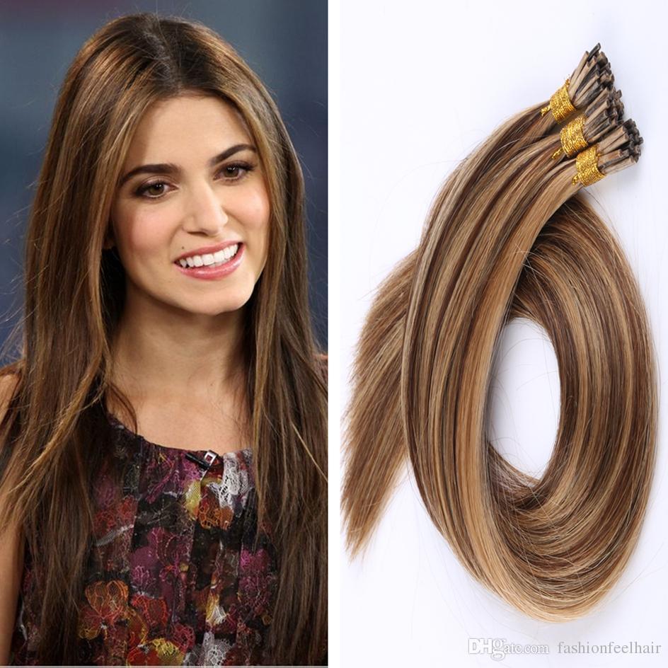 Stick Human Hair Extensions I Tip Real Human Hair Extensions Keratin
