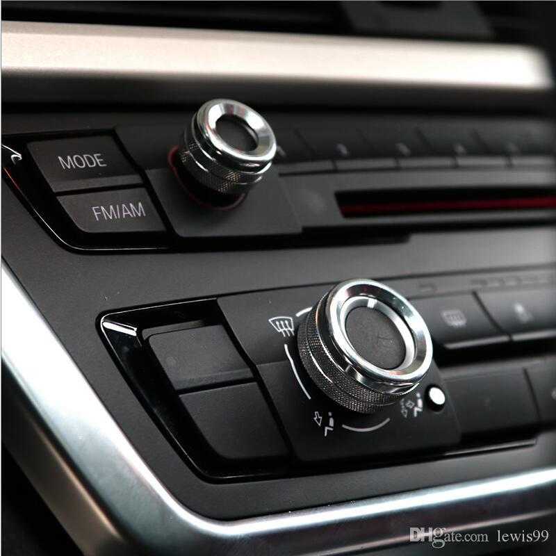 자동차 에어컨 소리 노브는 BMW E70 E71 F15의 F16 X1의 X5 X6의 F30 F32의 F34 F10의 F18의 F01의 F07의 F20의 F48 액세서리 인테리어 장식 커버
