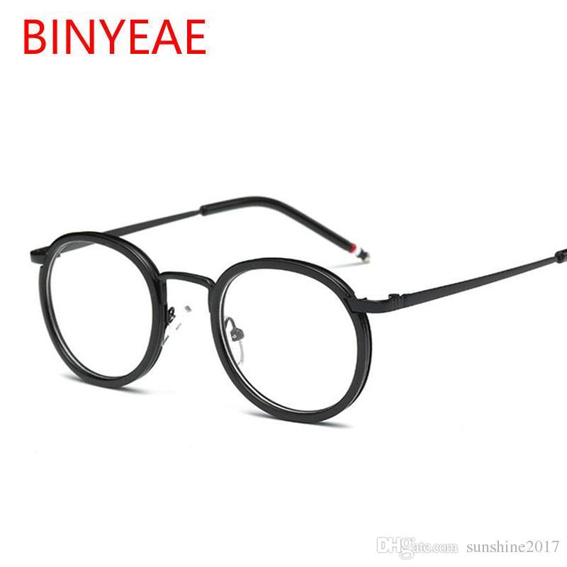 Boutique en ligne f8ffb 15309 Compre Gafas Transparentes Redondas Para Mujer Montura De Gafas Ópticas  Lente Transparente Gafas Graduadas Diseño De La Marca 2018 Gafas Miopía  Gafas ...