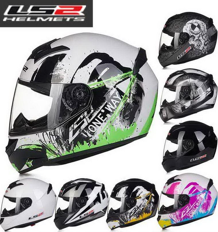 2016 Nouveau Casque de moto Full Foor CoorCross FF352 hors route Helmets d'ABS 18 Types de couleurs