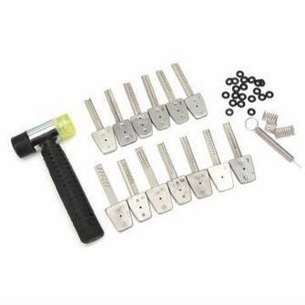 La chiave dell'acciaio inossidabile di HUK 13Pcs ha impostato il bit con la serratura del martello seleziona gli strumenti