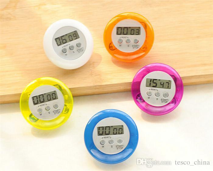 vente en gros portable mini minuteur réveil 5 couleurs nouveauté