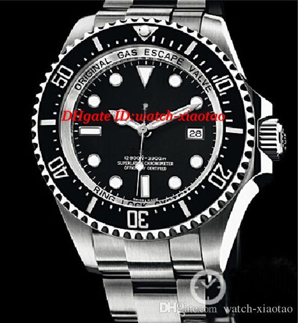 Factory Supplier Luxury Watches Original Box STAINLESS STEEL 44mm WATCH 116660 Mechanical Automatic Fashion Brand Men's Watch Wristwatch