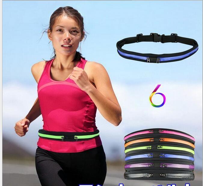 Waist Purse Gymnastics It is Good Word Unisex Outdoor Sports Pouch Fitness Runners Waist Bags