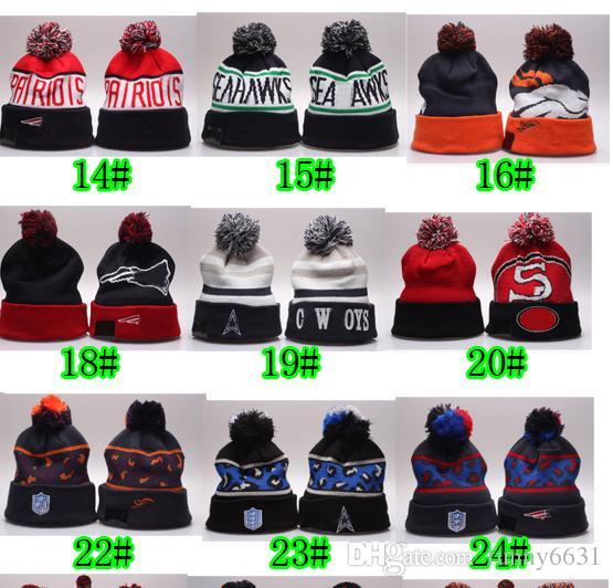عيد الميلاد الساخن بيع الشتاء أوروبا نوع رجل كرة القدم قبعة صوفية الهيب هوب قبعة السيدات امرأة الدفء القبعات أزياء قبعة 35 ألوان حر shippin