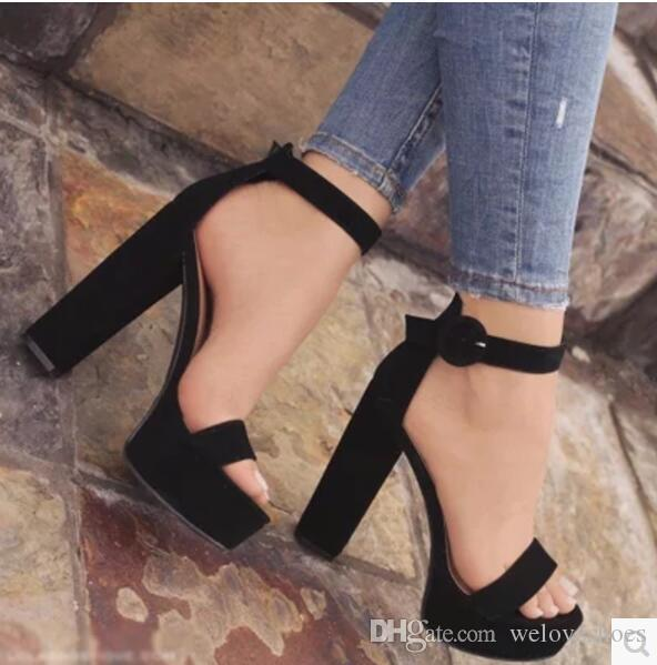 Chunky Heel Shoes For Women