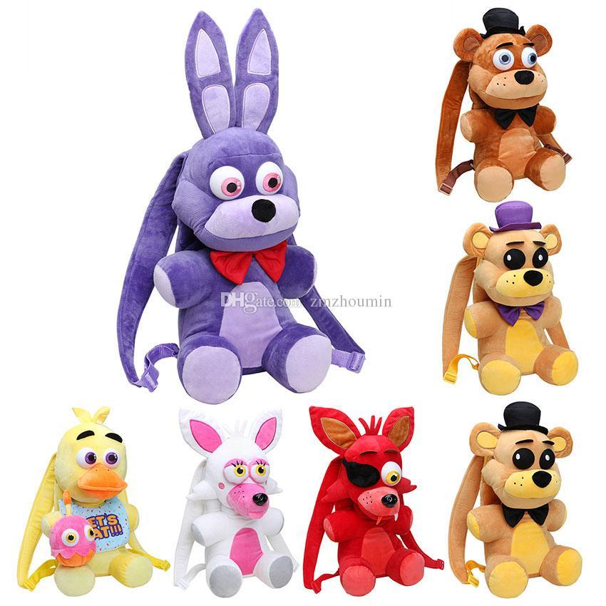 Style Five 5 Nights At Freddy/'s Purple Golden Fazbear Mangle Plush kid Toys