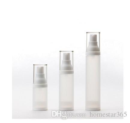 2017 Yeni 15 ml PP vakum şişe, emülsiyon, vakum şişe özü, göz kremi, vakıf sıvı, kozmetik şişe