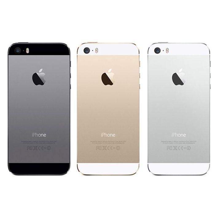 Original iPhone 5S i5S Fingerprit 4.0 inch Refurbished Smartphone Dual Core 1G RAM 16GB/32GB/64GB ROM Touch ID Mobile Phones