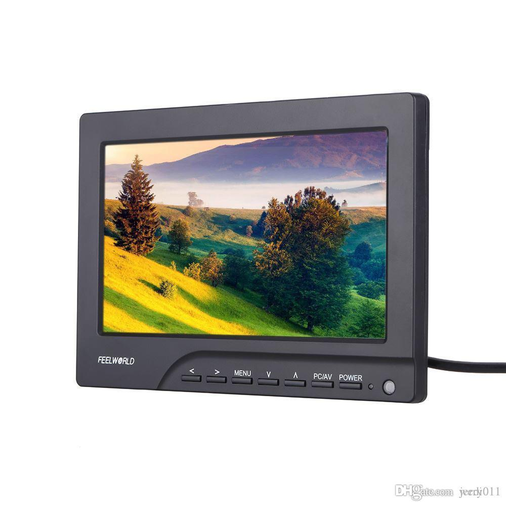 FEELWORLD FPV-769A 7inch HD 800*480p FPV Monitor HDMI Out with Sun Shield for FPV RC Helicopter DSLR Camera
